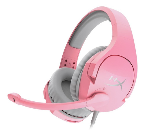 Imagen 1 de 9 de Auriculares Headset Hyperx Cloud Stinger Pink Pc Mac Consola