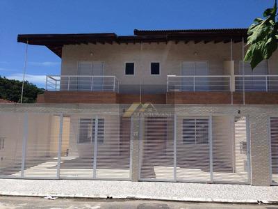 Sobrados 3 Dorm À Venda, Canto Do Forte, Praia Grande. - So0001