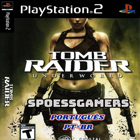 Tomb Raider Underworld Ps2 Português Pt-br Patch Me