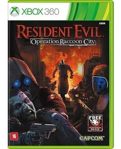Resident Evil Operacion Raccon City Xbox 360