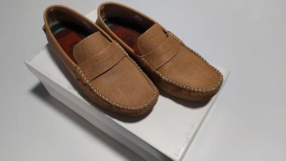 Zapato Mocasin G4 Antilope. Beige Talle 39. Igual A Nuevos
