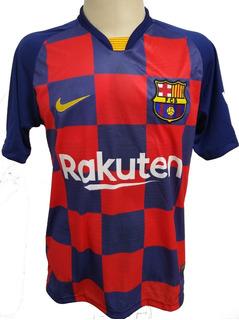 Camisa Barça Nova Quadriculada