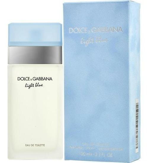 Perfume Dolce Gabbana Light Blue Fem Edt 100 Ml Lacrado
