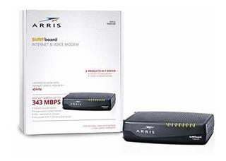 Arris Surfboard Docsis 8x4 Cable Módem - Teléfono Certificad