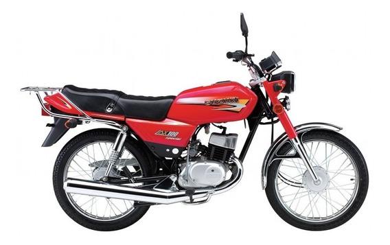 Suzuki Ax100 Special Color Rojo Entrega Inmediata