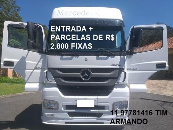 Mercedes-benz Axor 2644 6x4 2013 Teto Alto
