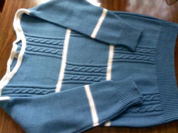 Blusa De Lã Azul