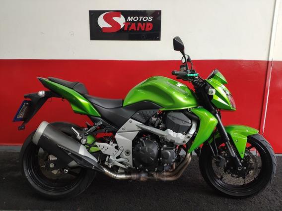 Kawasaki Z750 Z 750 Z-750 2010 Verde