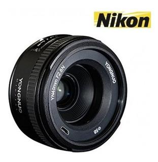 Yongnuo 40mm Para Nikon Apertura 2.8 (consultar Stock)