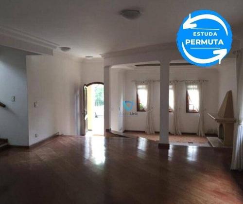 Imagem 1 de 23 de Casa Com 4 Dormitórios À Venda, 356 M² Por R$ 1.540.000,00 - Aldeia Da Serra - Santana De Parnaíba/sp - Ca1235