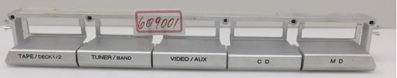 Teclado Painel Micro System Aiwa Nsx-t9 *609001