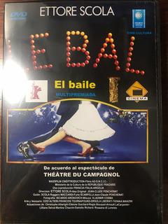 Dvd El Baile / Le Bal / De Ettore Scola