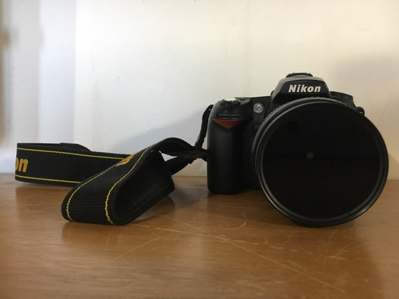 Nikon D90 C/ Lente Af-s Nikkor 18-105 Mm Incl. Filtro Hoya