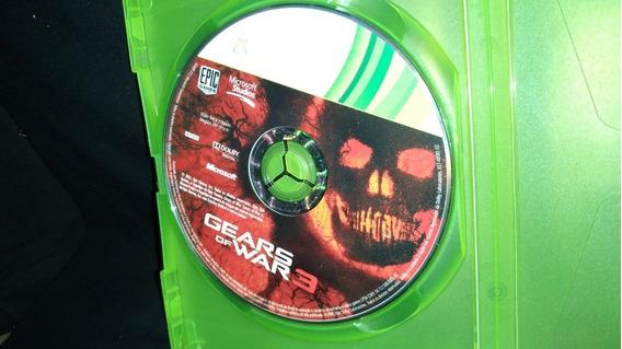Jogo De Xbox 360 Gears Of War 3