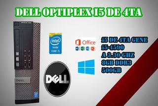 Cpu Dell I5 4ta Optiplex 7020 9020 3020 8gb 500gb