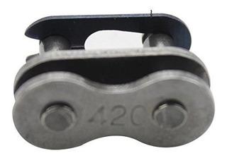 Goofit 1 Pcs 420 Cadena Master Link Para Atv Dirt Bike Go Ka