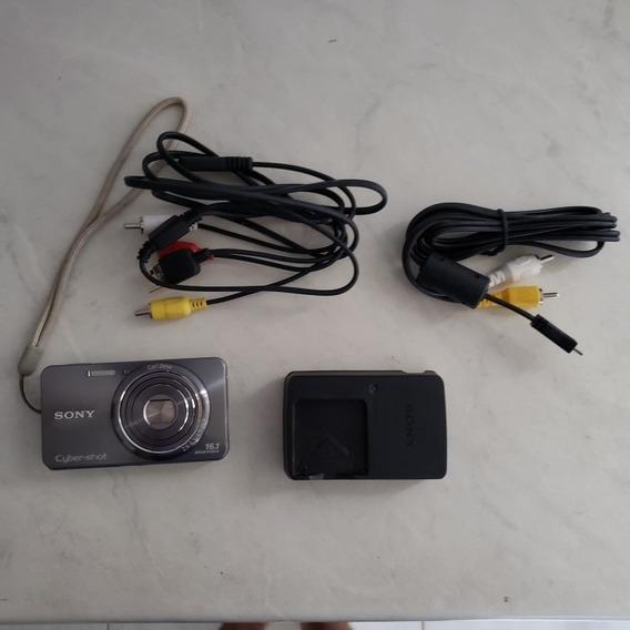 Câmera Digital Sony Cyber-shot 16.1mp + 6 Itens