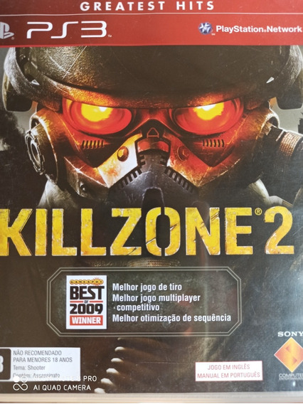 Killzone 2 Ps3 Original, Mídia Física, A Pronta Entrega