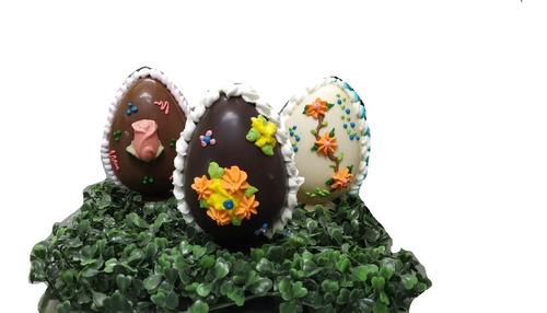 Huevo De Pascua Chocolate - N12 De 170 Grs - Semi Amargo