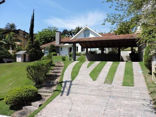 Imagem 1 de 27 de Casa Com 3 Dormitórios À Venda, 400 M² Por R$ 1.630.000 - Residencial Euroville - Granja Viana - Carapicuíba/sp - Ca0117