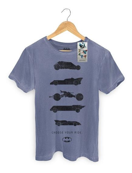 Camiseta Premium Dc Comics Batman Choose Your Ride - Bandup!