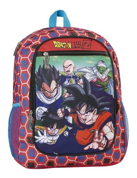 Mochila Dragon Ball Z Espalda 17° Licencia Original Oferta