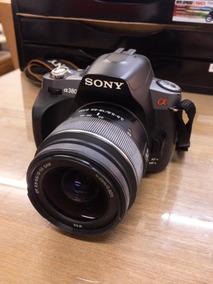 Camera Sony A380 + Lente 18-55 + Bolsa