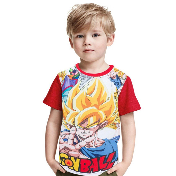 Poleras Dragon Ball Z Niño
