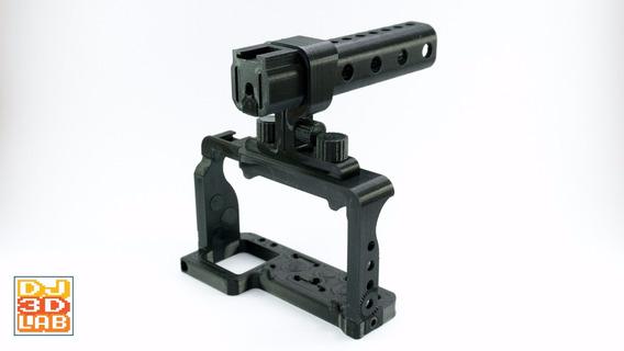 Cage Gaiola + Alça Superior Para Sony A6300