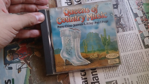 Cd Queens Of Country Music (patsy Cline,patti Page,jeannie)