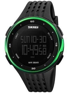 Relogio Skmei Digital 1219 Preto/verde Oferta