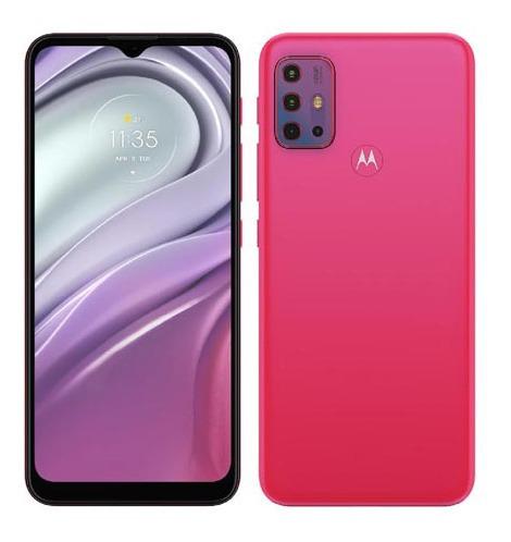 Imagem 1 de 9 de Smartphone Moto G20 Pink, Tela 6,5 , 64gb, 4g - Xt2128-4