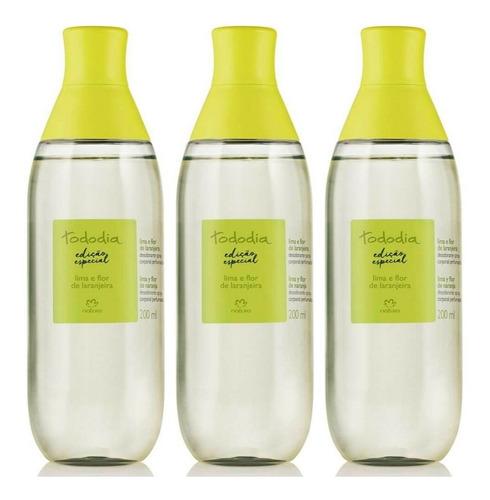 Spray Perfumado X3 Lima Y Flor De Naranja Tododía Natura