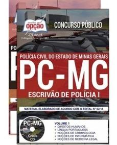 Apostila Polícia Civil De Minas Gerais - Escrivão Pc Mg 2018