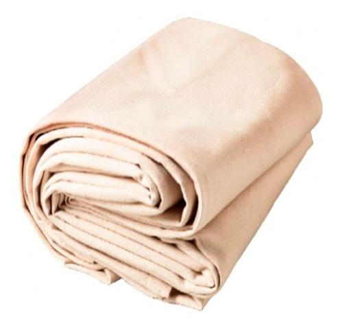 Tecido 210x700cm Algodão Cru Lona Cloth Forro Tela Pintura