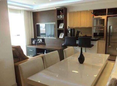 Apartamento À Venda, 51 M² Por R$ 310.000,00 - Vila Floresta - Santo André/sp - Ap1240