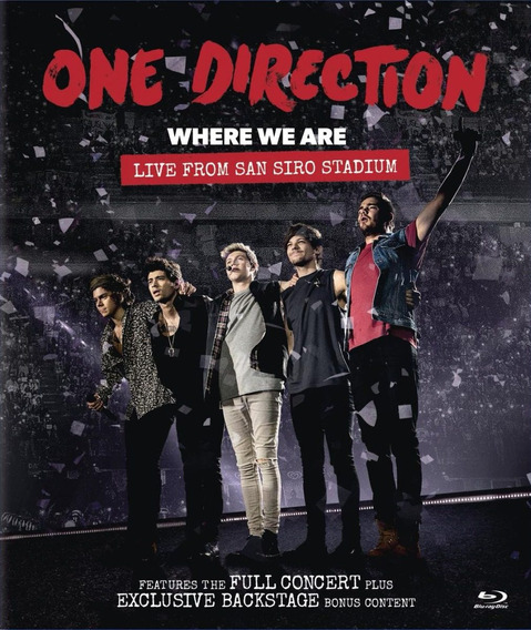 One Direction - Where We Are Tour Live From San Siro Blu-ray