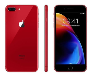 Apple iPhone 8 Plus 64gb Vermelho Seminovo Vitrine