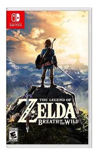 Zelda Breath Of The Wild Nintendo Switch Sellado En Español