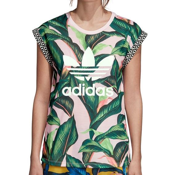 Remera adidas Originals Multicolor Mujer