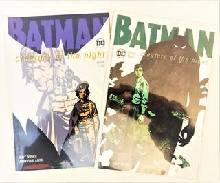 Batman Creature Of The Night #1 Y 2 - Ingles