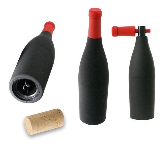 Sacacorcho Original Destapador Forma Botella Abridor Vino