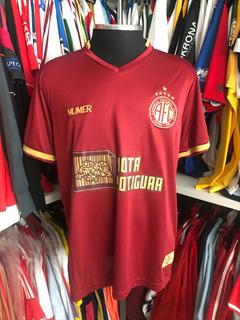 Camisa De Futebol 2020 América Rn Jogo #3