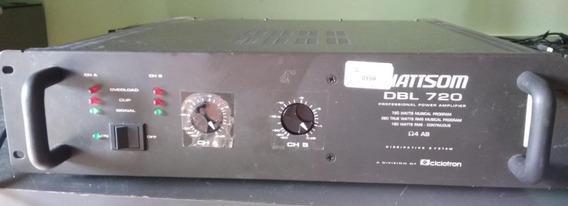 Amplificador Wattsom Dbl 720/4