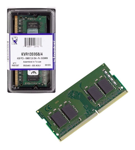 Memoria Kingston Sodimm Notebook Ddr3 4gb 1600mhz