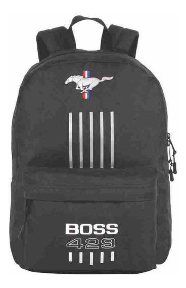Mochila De Costas Mustang Boss 429 Black