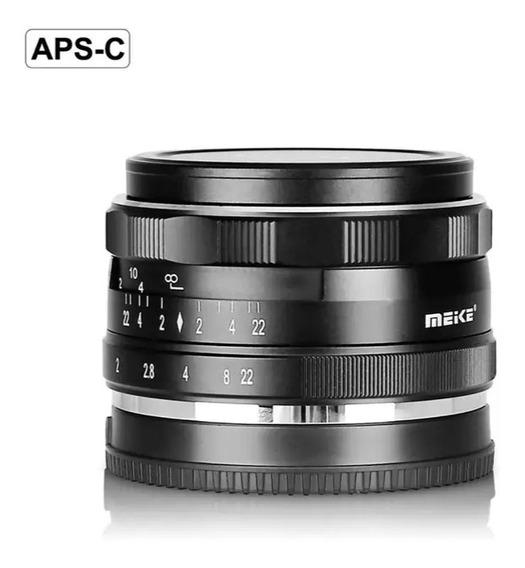 Lente Meike 35mm F1.7 Aps-c Para Canon Ef.m