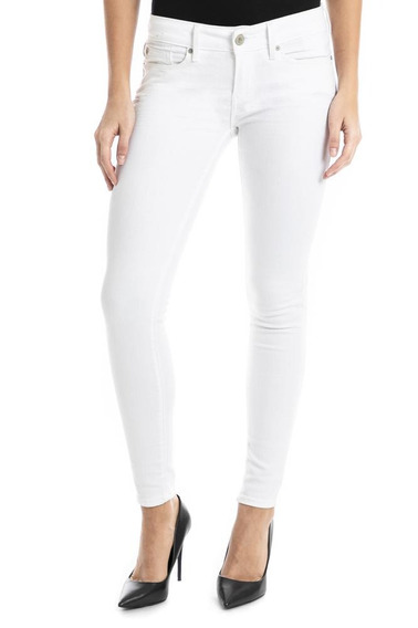 Pantalón Denizen® Mujer Super Skinny White Dove