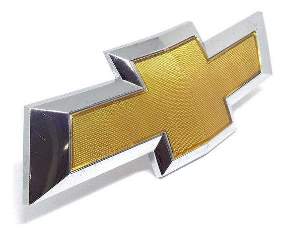 Emblema Grade Radiador Cruze 2012 2013 2014 Gravata Dourada