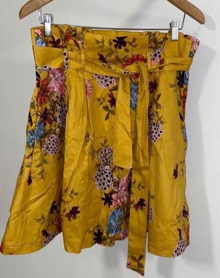Pollera Plisada Zara - Talle L - Marca Zara